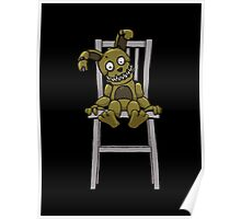 Five Nights at Freddy's - FNAF 4 - Plushtrap Poster
