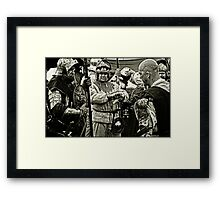 Berkeley Skirmish Framed Print