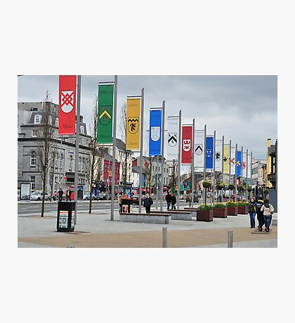 City of the Tribsmen, Galway, Ireland. Photographic Print