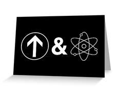 Up&Atom Greeting Card