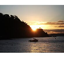 sunset paradise Photographic Print