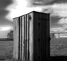 Koyle Cemetery Outhouse by CurtisNeeley