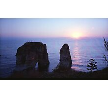 Beyrouth - Rawché - I - Spectra Photographic Print