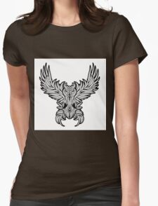 Vintage owl tattoo style. T-Shirt