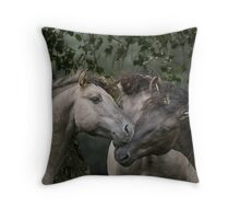 On The Count of Three... Throw Pillow