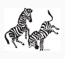 Zebras One Piece - Short Sleeve