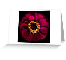 Chaotic Ultraviolet Contumacy Greeting Card