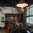 Machine Shop With Lantern by Susan Savad