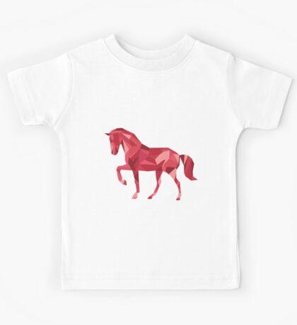 Geometric Horse Kids Tee