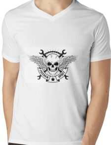 The spirit of freedom Mens V-Neck T-Shirt