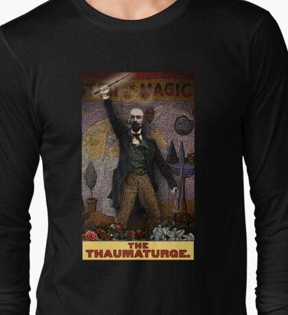 The Thaumaturge: Circus Tarot by Duck Soup Productions Long Sleeve T-Shirt