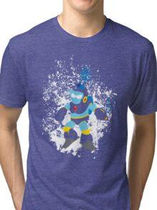 Bubble Man Splattery Vector shirt Tri-blend T-Shirt