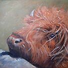 ickle hairy cow by Carole Russell