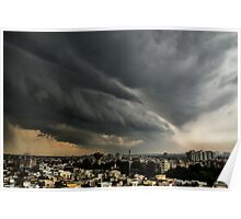 A Storm passing by Poster