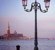 Venice Street Lamp by Ann Garrett