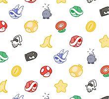Mario Kart by scribblemonkey