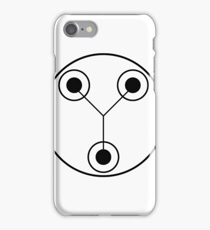Simple Flux Capacitor Schematic iPhone Case/Skin