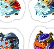 Legend of the Poro King Poros Sticker