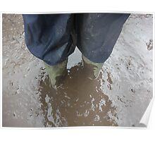 Muddy Underfoot Poster