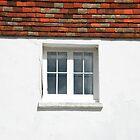 White Wall, Square Window by Celia Strainge