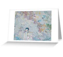 Japanese Melody Greeting Card