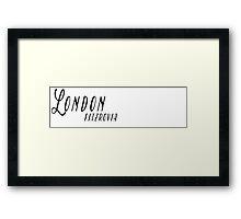 London - Fitzrovia Framed Print