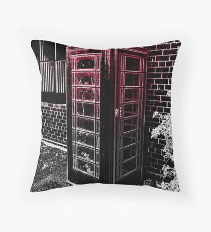 Boring British Bobbins Throw Pillow