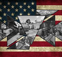 CS GO MAP AMERICA by dhax