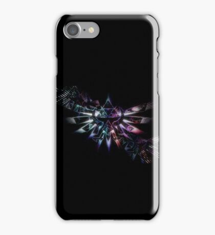Triforce Of Courage - Rainbow iPhone Case/Skin