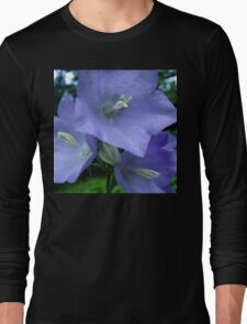 Blue Campanula Macro T-Shirt