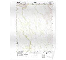 USGS Topo Map Nevada Barrel Springs 20111228 TM Poster