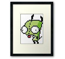 8-Bit Gir Framed Print