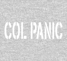 COL PANIC - Punny White on Black Design for Unix/Linux Geeks Kids Clothes