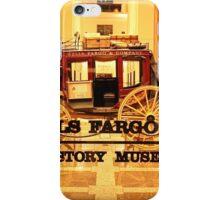 Wells Fargo Museum iPhone Case/Skin