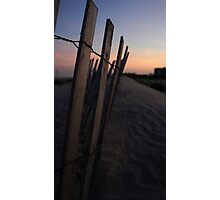 Beach Dunes Photographic Print