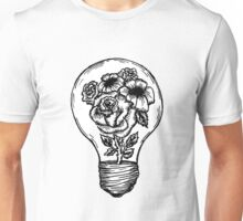 flower lightbulb Unisex T-Shirt