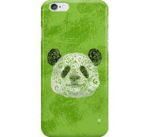 Swirly Panda iPhone Case/Skin