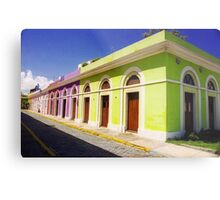 Old San Juan Colours, Puerto Rico Metal Print