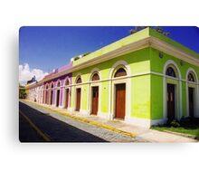 Old San Juan Colours, Puerto Rico Canvas Print