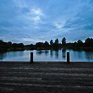 wide angle afternoon lake by MrZebra