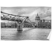 Millennium Bridge Poster