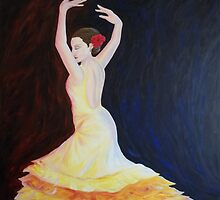 Dancing Lady by Gian