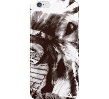 native wolf iPhone Case/Skin