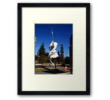 St. George & The Dragon - St. Georges Cathedral (Perth) Framed Print