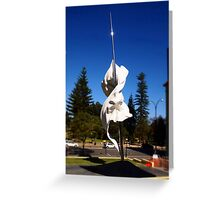 St. George & The Dragon - St. Georges Cathedral (Perth) Greeting Card