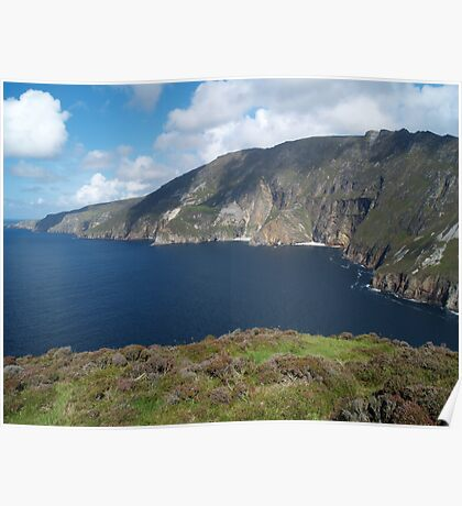 Slieve League Poster