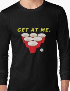 Beer Pong Shirt Long Sleeve T-Shirt