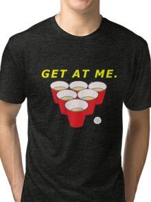 Beer Pong Shirt Tri-blend T-Shirt