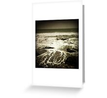 Moody Beach Greeting Card