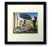 Zelda's Spa Day Framed Print